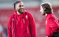 WREXHAM, WALES - Wednesday, March 20, 2019: Wales' Ashley Williams ahead of the international friendly match between Wales and Trinidad and Tobago at the Racecourse Ground. (Pic by Laura Malkin/Propaganda)