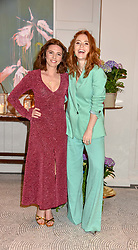 Left to right, Ophelia Lovibond and Angela Scanlon at the Belmond Cadogan Hotel Grand Opening, Sloane Street, London England. 16 May 2019. <br /> <br /> ***For fees please contact us prior to publication***