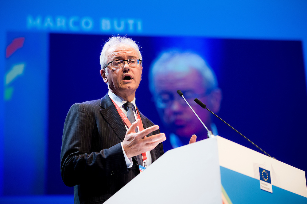 Brussels, Belgium, 9 June 2016<br /> Brussels Economic Forum 2016.<br /> On this picture: Marco Buti, Director-General for Economic and Financial Affairs at the European Commission.<br /> The Brussels Economic Forum (BEF) is the flagship annual economic event of the European Commission.<br /> The BEF brings together top European and international policymakers and opinion leaders as well as civil society and business leaders. It is the place to take stock of economic developments, identify key challenges and debate policy priorities.<br /> Photo: European Commission / Ezequiel Scagnetti