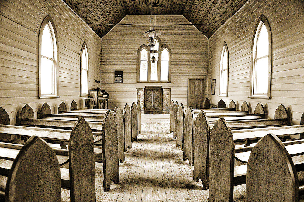 Wesleyan Methodist Church at Sovereign Hill