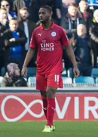 Football - 2016 / 2017 FA Cup - Fifth Round: Millwall vs. Leicester City <br /> <br /> Molla Wague of Leicester City at The Den<br /> <br /> COLORSPORT/DANIEL BEARHAM