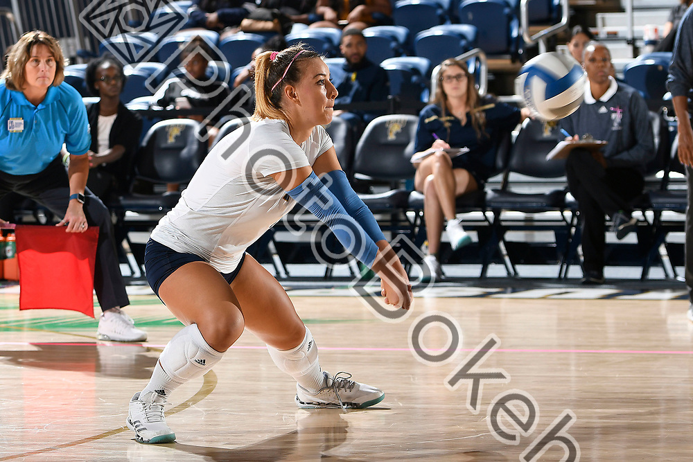 2017 October 06 - FIU's Margherita Biachin (1). Florida International University Women's Volleyball fell to Marshall, 1-3, at FIU Arena, Miami, Florida. (Photo by: Alex J. Hernandez / photobokeh.com) This image is copyright by PhotoBokeh.com and may not be reproduced or retransmitted without express written consent of PhotoBokeh.com. ©2017 PhotoBokeh.com - All Rights Reserved
