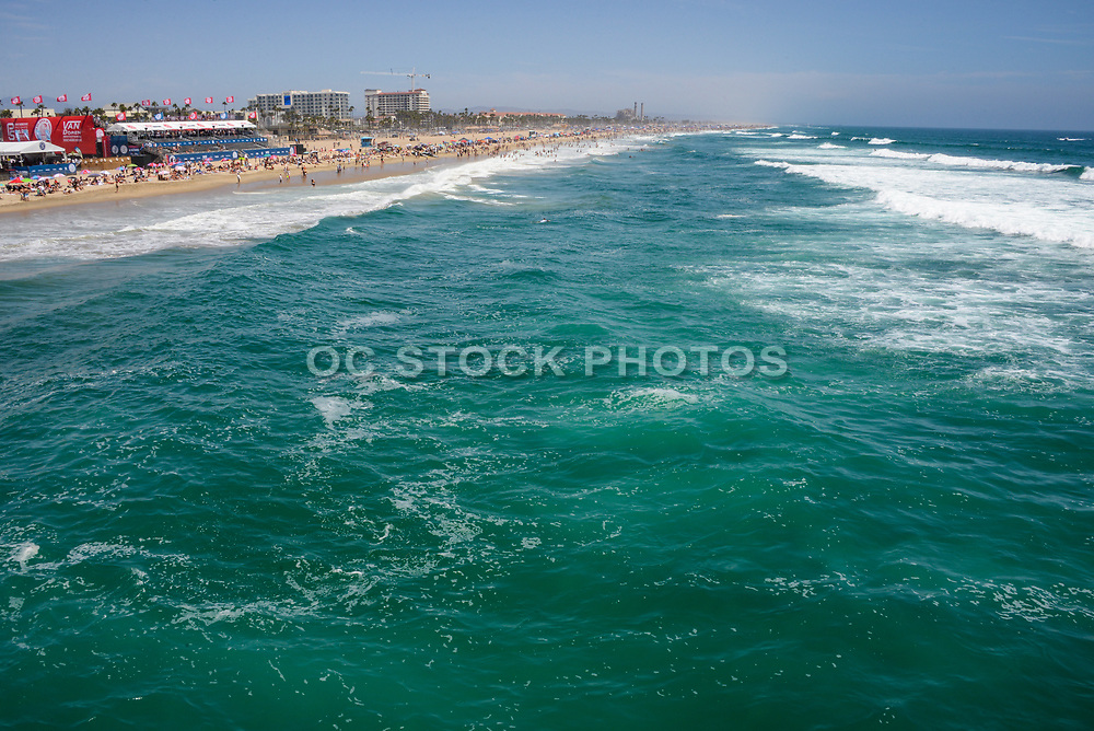 Ocean View of Huntington Beach