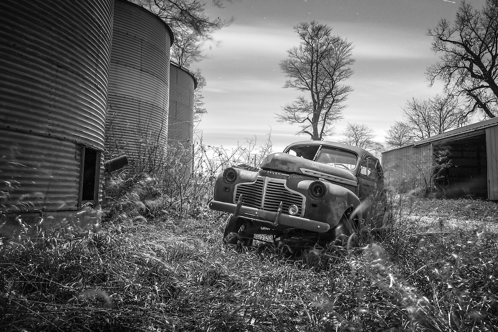 Lost To Time & Elements, Museum Without Walls Series, 1941 Chevrolet Special Deluxe 2 Door Coupe