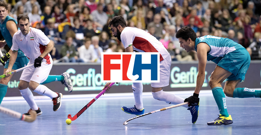 BERLIN - Indoor Hockey World Cup<br /> Bronze: Iran - Australia<br /> foto: <br /> WORLDSPORTPICS COPYRIGHT FRANK UIJLENBROEK