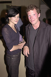 MISS TABITHA SIMMONDS and the HON.NAT ROTHSCHILD son<br />  of Lord Rothschild, at a party in London on 14th June 2000.OFF 68<br /> © Desmond O'Neill Features:- 020 8971 9600<br />    10 Victoria Mews, London.  SW18 3PY <br /> www.donfeatures.com   photos@donfeatures.com<br /> MINIMUM REPRODUCTION FEE AS AGREED.<br /> PHOTOGRAPH BY DOMINIC O'NEILL