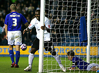Photo: Tom Dulat/Sportsbeat Images.<br /> <br /> Millwall v Swansea City. Coca Cola League 1. 06/11/2007.<br /> <br /> Swansea City's Jason Scotland scores opener of the game.