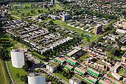 Nederland, Zuid-Holland, Gemeente Rotterdam, 15-07-2012; Hoogvliet. Eengezinswoningen en flats in het zuidelijke gedeelte van de deelgemeente Hoogvliet. .Residential area Hoogvliet (Rotterdam)..aerial photo (additional fee required).foto/photo Siebe Swart