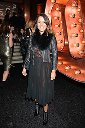 LISA MOORISH at the Warner Music Group & Ciroc Vodka Brit Awards After Party held at The Freemason's Hall, 60 Great Queen St, London on 24th February 2016.