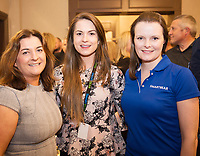 Repro  Free:   Maureen Kelly DXC Technology (FAST) with Ciara McDonnell and Laura Kennedy of Smartbear  at  ITAG Members Update evening in Hotel Meyrick where some of the nominees pitched their projects.   <br /> The ITAG Excellence Awards will take place on  November 17th Hotel Meyrick, Eyre Square, Galway.<br /> Winners in the following categories will be announced: <br />     New Talent of the Year Award<br />     Digital Woman Awards<br />     Emerging Technology Start Up Award<br />     Leadership Award<br />     Technology Innovation of the Year Award<br />     Digital Project Award<br />     ITAG Digital Enterprise Award &lt; 50 Employees<br />     ITAG Digital Enterprise Award &gt; 50 Employees.<br />  <br />  Photo:Andrew Downes, xposure.