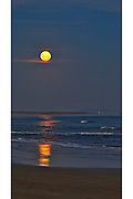 Point Lonsdale moonrise