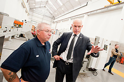 Staff and Clients attend the opening of  Premier Hytemp Ltd new facility on Thorncliffe Industrial Estate Sheffield.22nd September2011 Image © Paul David Drabble