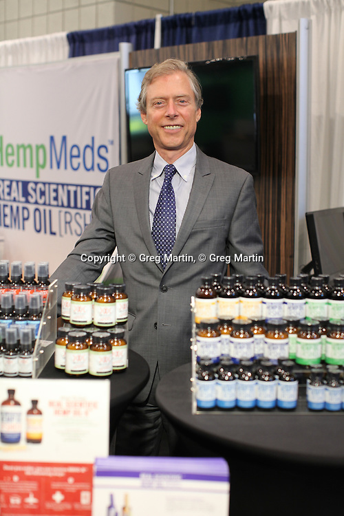 CWCBExpo NYC  Stuart Titus from Medical Marijuana, Inc.<br /> CWCBExpo NYC