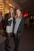 SASKIA WAKELEY; PIPPA WAKELEY, Charity Gala Reception in aid of the Neuroblastoma Society, Bada Antiques and Fine art Fair. Duke of York Sq.  Sloane Sq. London. 19 March 2014.
