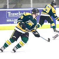2nd year forward, Ben Duperreault (20) of the Regina Cougars during the Men's Hockey Home Game on Sat Dec 01 at Co-operators Center. Credit: Arthur Ward/Arthur Images