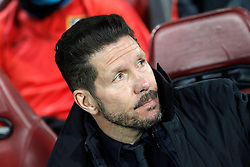 15-03-2016 ESP, UEFA CL, Atletico Madrid - PSV Eindhoven, Madrid<br /> Atletico de Madrid's coach Diego Pablo Simeone // during the UEFA Champions League Round of 16, 2nd Leg match between Atletico Madrid and PSV Eindhoven at the Estadio Vicente Calderon in Madrid, Spain on 2016/03/15. <br /> <br /> ***NETHERLANDS ONLY***