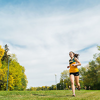 Tianna Dodds competes during the annual Cougar Trot on September 17 at Douglas Park. Credit: Arthur Ward/Arthur Images