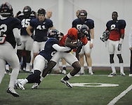 Ole Miss football practice at the IPF in Oxford, Miss. on Wednesday, April 3, 2013.