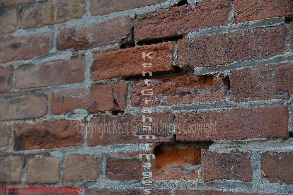 Red Brick wall,