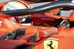 February 26, 2019 - Spain - Sebastian Vettel (Scuderia Ferrari Mission Winnow) SF90 car, seen in action during the winter testing days at the Circuit de Catalunya in Montmelo  (Credit Image: © Fernando Pidal/SOPA Images via ZUMA Wire)