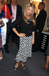 Singer LYNSEY DE PAUL at a private view of fashion designer Lindka Cierach's Couture Dresses drawn by Trudy Good held at the Belgravia Gallery, 45 Albemarle Street, London on 21st September 2005.<br /><br />NON EXCLUSIVE - WORLD RIGHTS