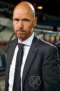 19-09-2015 VOETBAL:WILLEM II- FC UTRECHT:TILBURG<br /> <br /> FC Utrecht trainer Erik ten Hag<br /> <br /> Foto: Geert van Erven