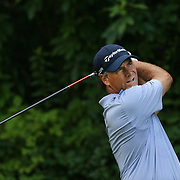 Scott McCarron, USA, in action during the first round of the Travelers Championship at the TPC River Highlands, Cromwell, Connecticut, USA. 19th June 2014. Photo Tim Clayton