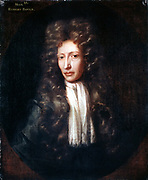 Robert Boyle (1627-91) Irish born chemist and physicist. Oil on canvas: After Johann Kerseboom 1689-90.
