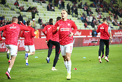 November 15, 2018 - Gdansk, Pomorze, Poland - Kamil Grosicki (11) Poland national football team during the international friendly soccer match between Poland and Czech Republic at Energa Stadium in Gdansk, Poland on 15 November 2018  (Credit Image: © Mateusz Wlodarczyk/NurPhoto via ZUMA Press)