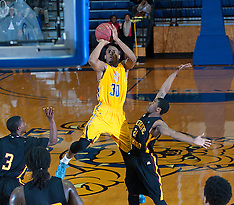 2013-14 A&T Men's Basketball vs Bethune-Cookman