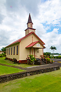 Olaa First Hawaiian Church, 1835, Kurtistown, Island of Hawaii