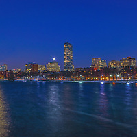 Sunday, 12 March 2017, I was on a mission to capture the moon rising across the Boston skyline. It was a frigid cold night and in the single digits. This was probably the main reason that there were not many people on the street, no bikers, walkers and runners and yes, I did not spot any other photographer that night. In this moon and skyline photography image, I selected a wide view of the Hub that includes the familiar Charles River skyline landmarks such as the John Hancock tower and Prudential Center in the Back Bay and the newly constructed Millennium Tower, one of Boston&rsquo;s latest landmarks and building architecture. <br /> <br /> Boston full moon photos are available as museum quality photo prints, canvas prints, acrylic prints or metal prints. Fine art prints may be framed and matted to the individual liking and decorating needs:<br /> <br /> http://juergen-roth.pixels.com/featured/boston-moon-rise-juergen-roth.html<br /> <br /> All Boston skyline photos are available for photography image licensing at www.RothGalleries.com. Please contact me direct with any questions or request.<br /> <br /> Good light and happy photo making!<br /> <br /> My best,<br /> <br /> Juergen<br /> Prints: http://www.rothgalleries.com<br /> Photo Blog: http://whereintheworldisjuergen.blogspot.com<br /> Instagram: https://www.instagram.com/rothgalleries<br /> Twitter: https://twitter.com/naturefineart<br /> Facebook: https://www.facebook.com/naturefineart