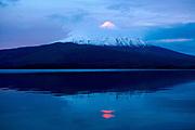 Sunset, Osorno Volcano, Lake Llanquihue, Chile