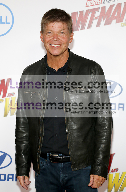 Rob Liefeld at the Los Angeles premiere of 'Ant-Man And The Wasp' held at the El Capitan Theatre in Hollywood, USA on June 25, 2018.
