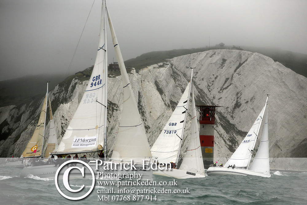GBR 944R GBR 7381R GBR 653R, J P Morgan, Round the Island Race, 2011, Cowes, Isle of Wight, Photographs © Patrick Eden