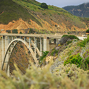 Bixby Bridge, Highway 1 along the California Coast