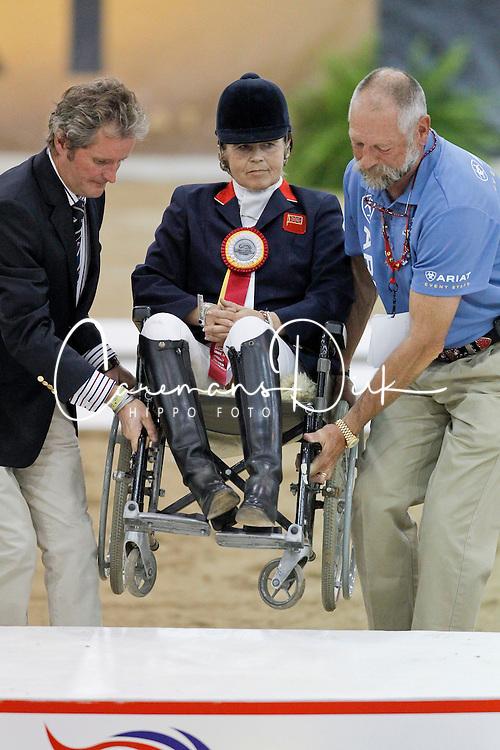 Dunham Anne (GBR) - Teddy<br /> Alltech FEI World Equestrian Games <br /> Lexington - Kentucky 2010<br /> © Dirk Caremans