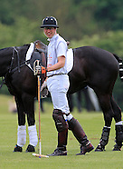 Princes William & Harry Play Charity Polo Match