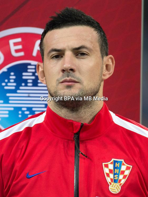 Uefa Euro FRANCE 2016 - <br /> Croatia National Team - <br /> Danijel Subasic