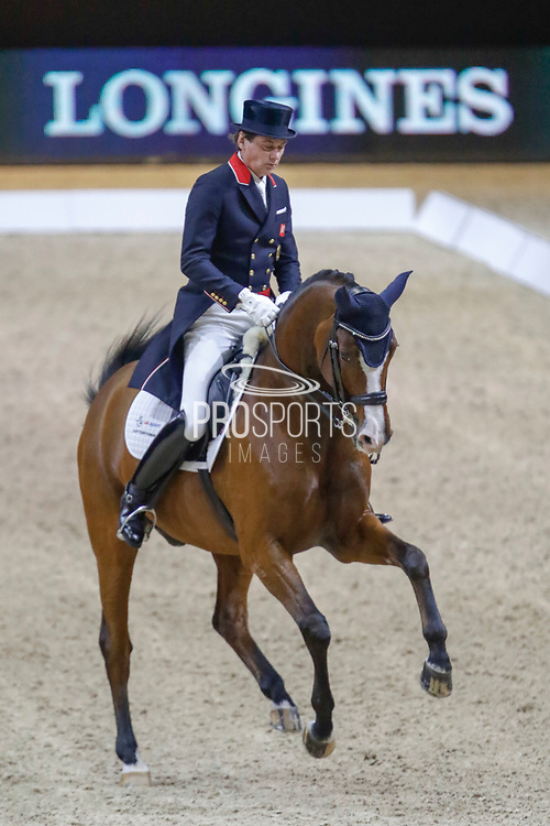 Emile Faurie on Lollipop during the Equestrian FEI World Cup Dressage Lyon 2017 on November 2, 2017 at Eurexpo Lyon in Chassieu, near Lyon, France - Photo Romain Biard / Isports / ProSportsImages / DPPI