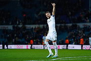 Leeds United defender Liam Cooper (6) reacts during the EFL Sky Bet Championship match between Leeds United and Queens Park Rangers at Elland Road, Leeds, England on 2 November 2019.