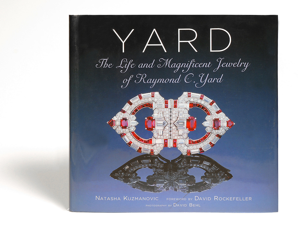 Biography of American jeweler Raymond Yard by Natasha Kuzmanovic with photos by David Behl,<br />