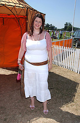 FIFI TRIXIBELLE GELDOF daughter of Bob Geldof at the Veuve Clicquot sponsored Gold Cup Final or the British Open Polo Championship held at Cowdray Park, West Sussex on 17th July 2005.<br /><br />NON EXCLUSIVE - WORLD RIGHTS