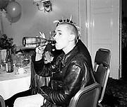 Michael Clark,  Leukemia Ball, Hurlingham Club, 15 July 1985. © Copyright Photograph by Dafydd Jones 66 Stockwell Park Rd. London SW9 0DA Tel 020 7733 0108 www.dafjones.com