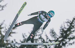 19.01.2020, Hochfirstschanze, Titisee Neustadt, GER, FIS Weltcup Ski Sprung, im Bild Michael Hayboeck (AUT) // Michael Hayboeck of Austria during the FIS Ski Jumping World Cup at the Hochfirstschanze in Titisee Neustadt, Germany on 2020/01/19. EXPA Pictures © 2020, PhotoCredit: EXPA/ JFK