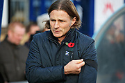 Wycombe Wanderers manager Gareth Ainsworth before the EFL Sky Bet League 1 match between Wycombe Wanderers and Peterborough United at Adams Park, High Wycombe, England on 3 November 2018.