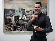 KARL ULLGER, Gibraltar as seen by five artists. private view hosted by the Chief Minister of Gibraltar. Art Bermondsey project Space. 24 October 2017