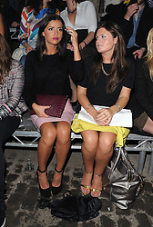 Lucy Mecklenburgh attends LFW: Conchita Perez - s/s 2014 catwalk show in London 13/09/2013<br />