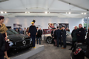 IN THE BENTLEY SHOWROOM, Ladies Day, Cheltenham Festival, 13 March 2019