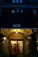 205 East 69th st. Building Facade, site of the infamous murder of George Kogan who was shot in 1990 outside of their New York City Brownstone. In 2008, it was discovered that Barbara Kogan was responsible for the murder.